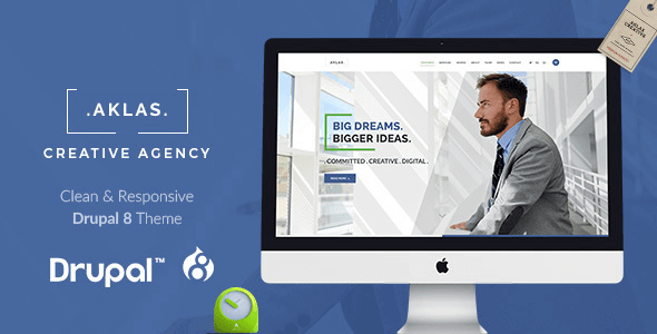aklas-clean-creative-drupal-8-theme