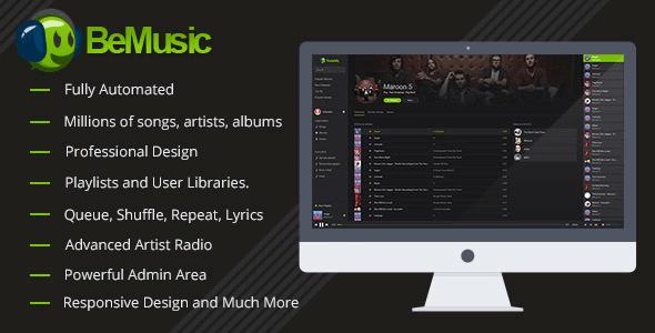 bemusic-music-streaming-engine