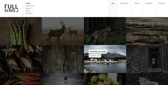 fullscreen-photography-portfolio-drupal-theme
