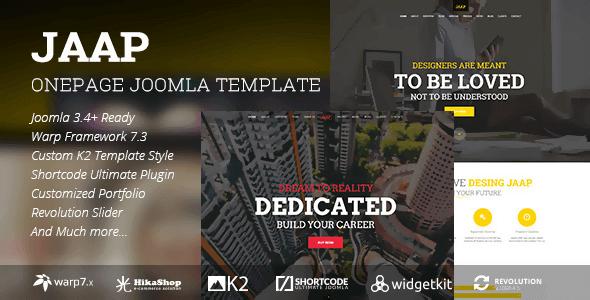 jaap-creative-onepage-joomla-template