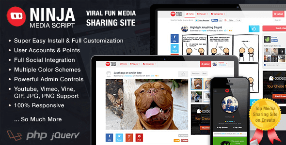 ninja-media-script-viral-fun-media-sharing-site
