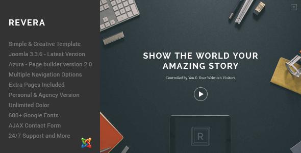 revera-simple-and-creative-portfolio-template