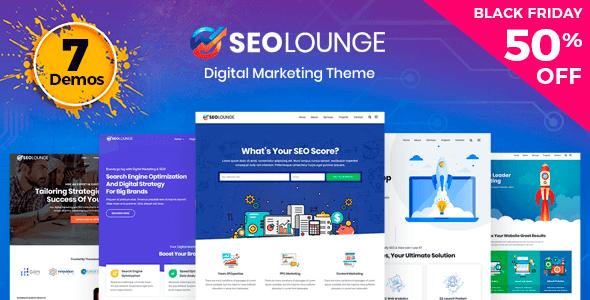 SEOLounge 2 2 1 – SEO Agency WordPress Theme NULLED