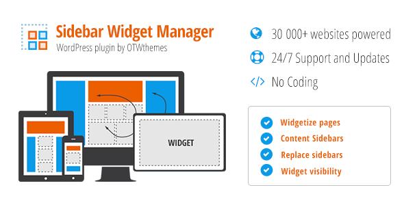 sidebar-widget-manager