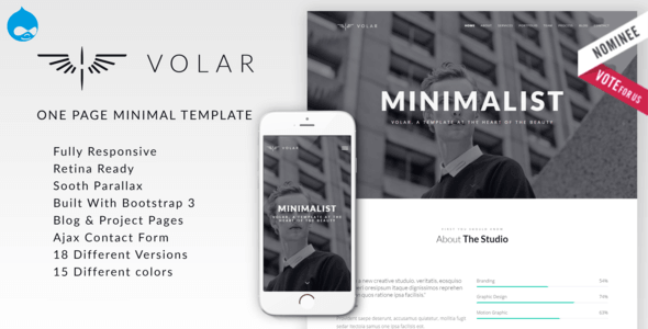 volar-one-page-minimal-parallax-drupal-theme