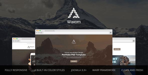 waxom-clean-and-universal-responsive-joomla-template