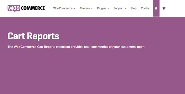 woocommerce-cart-reports