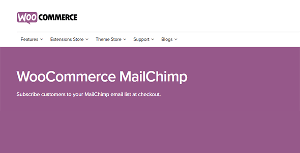 woocommerce-mailchimp