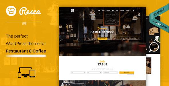 wordpress-restaurant-theme-resca