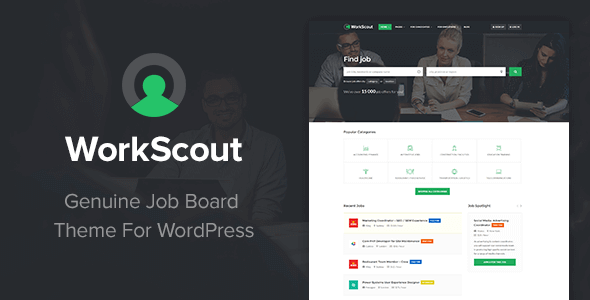 WorkScout 1 5 1 3 – Job Board WordPress Theme