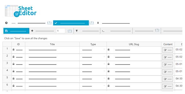 Wp Sheet Editor Null Market